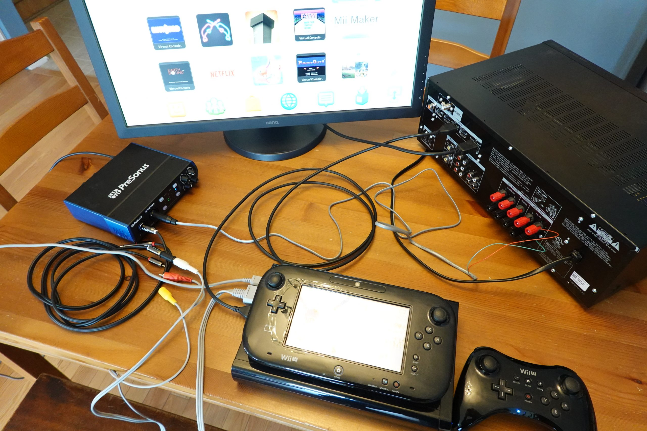 Using a Nintendo Wii U to measure HDMI audio delay / audio input lag
